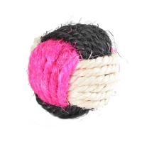 Когтеточка-мячик из сизали