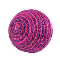 Когтеточка-шарик,  красно-фиолетовый
